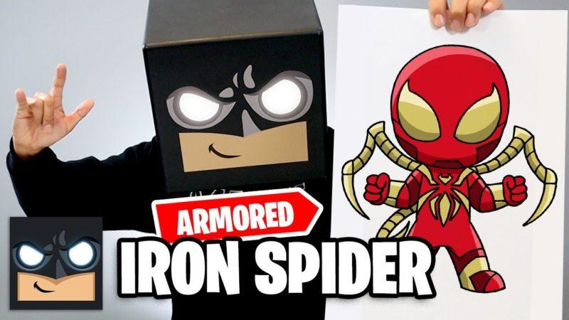 Come disegnare Spiderman | Armored Iron Spider