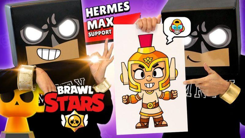 Come disegnare Hermes Max | Brawl Stars (tutorial di disegno e colorazione)