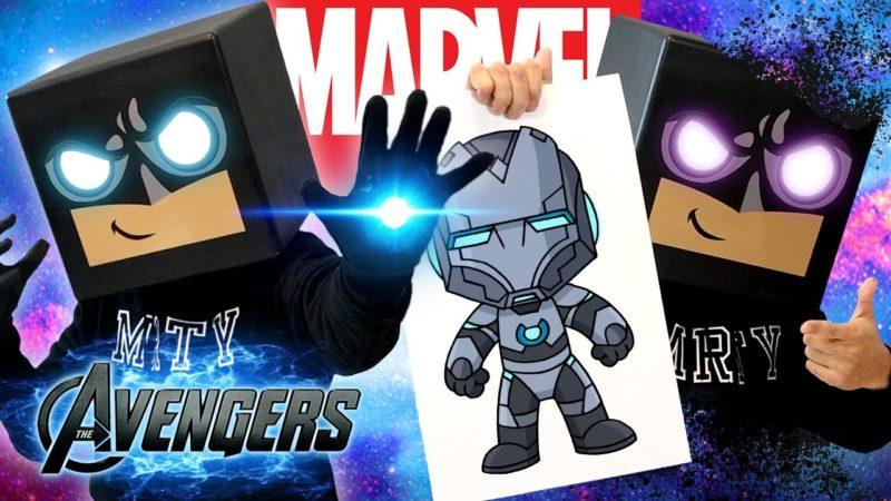 Come disegnare Superior Iron Man | Tutorial per disegnare e colorare