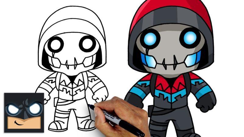 Come disegnare Bonehead di Fortnite