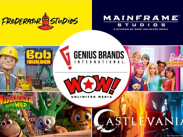 Genius Brands acquisisce WOW! Media illimitati