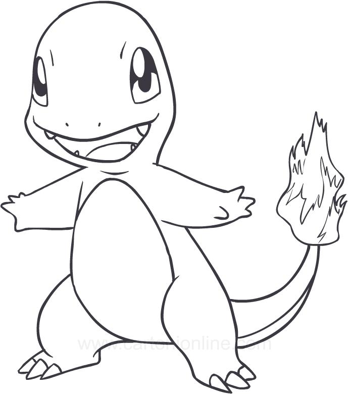 pokemon ausmalbild glumanda  diy pokemon adventskalender